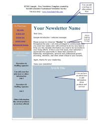 Template Newsletter Template Free Word Templates Microsoft Templates