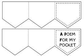 Pocket Template Back Pocket Accordion Book Template