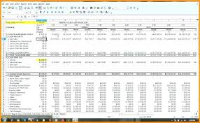 Business Plan Template Financial Forecast Projections Excel