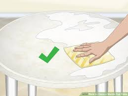 Image Stains Image Titled Clean Marble Top Table Step Wikihow Ways To Clean Marble Top Table Wikihow