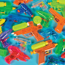 Squirt guns in bulk