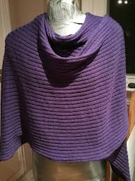 Knit Shawl Pattern Beauteous The Sewing Lawyer An Easy Machine Knitted Shawl