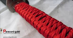 another look at the paracord handle wrap