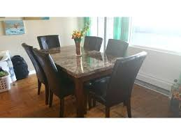 the brick dining room sets. Plain Dining Marble Dining Table And 6 Chairs Set The Brick With  Central And The Brick Dining Room Sets