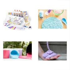mr e mc2 unicorn slime kit includes all supplies to make your own fairy galaxy