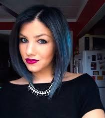 Pravana Blue Blue Hair Colored Ombre