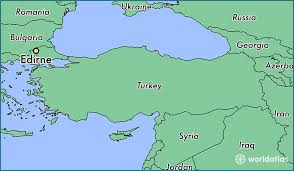 Image result for edirne haritası