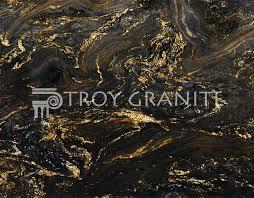 diamond black gold
