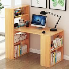 office desk shelving. Delighful Shelving LK632 Home Notebook Computer Desk Simple Wooden Laptop Table Multilayer Bookcase  Office Multifunction In Shelving