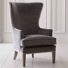whitney accent chair in fabric or leather