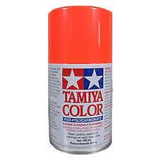 Tamiya Ps Paint Chart Tamiya Ps 20 Fluorescent Red Lexan Spray Paint 3oz