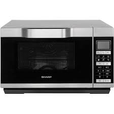 sharp 900w standard microwave r372km black. sharp r861slm 25 litre combination microwave oven silver. 900w standard r372km black