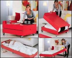 Convertible Coffee Table And Folding Bed Project - Rockler
