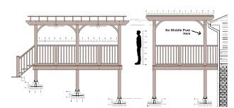 Pergola Main Beams Span Building Construction Diy
