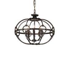 vernal 8 light brushed golden brown chandelier