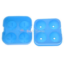 4 cell sphere shaped diy silicone ice cube tray round ice ball maker mould mold