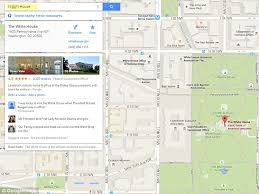 Google Maps search for N House directs users to the White