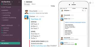Clarizen Bot For Slack Increases Productivity And Drives Business