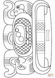 Elegant 32 Sample Aztec Calendar Coloring Page Printable Blank And