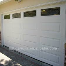 side opening large garage door single panel automatic garage door large garage door finger protection garage door on alibaba