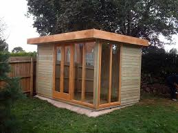 office garden shed. Contemporary Office 12 X 8 With Glass Around The Corner Garden Shed L