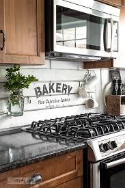painted shiplap boards diy kitchen backsplash ideas funky junk interiors