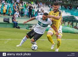 PR - Curitiba - 03/17/2019 - Paranaense 2019, Coritiba x Cascavel FC -  Sabino Coritiba player contests bid with Cascavel player during match at  Couto Pereira stadium for State Championship 2019 Photo: Gabriel Machado /  AGIF Stock Photo - Alamy