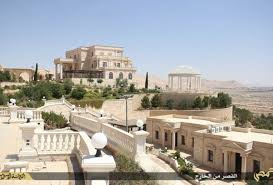 isis main office. Aerial Photographs Of The Sprawling Hilltop Mansion That Isis Claims To Have Seized From Qatari Main Office