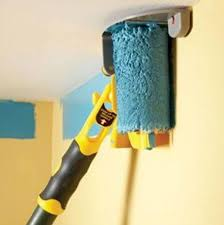 easy way to paint the walls