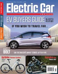 Electric Car Insider Magazine Releases Interactive Mobile Ev