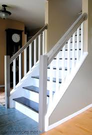 Best  Staircase Makeover Ideas On Pinterest Staircase Remodel - Painted basement stairs