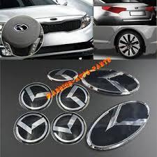 kia logo 2013. Modren Kia For KIA OPTIMA K5 3D K Logo Badge Emblem Black 2011 2012 2013 2014 7PCS Full To Kia