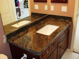 image of solid surface vanity tops with integral sink