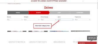 Golf Driver Shaft Fitting Guide Flex Chart
