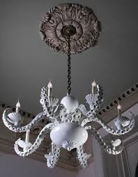 coastal beach house octopus chandelier by adam wallacavage