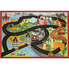 disney cars london bridge game rug