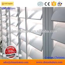 PVC Decorative Indoor Window Plantation Shutters Ireland