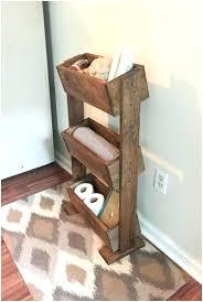 rustic decorative ladder medium image for wooden shelf bathroom farmhouse decor home wide