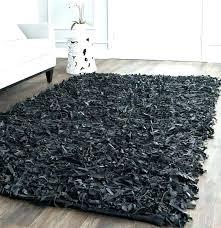 gy big fluffy rugs area
