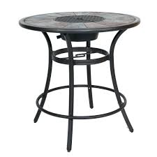 medium size of bar height round patio table in stone cleaner and chairs with plus rou patio stone table