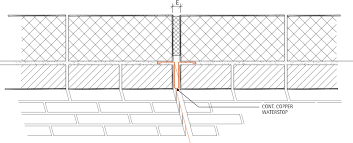 expansion joint concrete wall. download cad file technical detail expansion joint concrete wall e