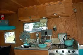 Camper Trailer Kitchen Vintage Aloha Trailer Pictures And History From Oldtrailercom