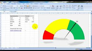 Barometer Chart Create Speedometer Chart In Excel