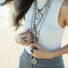 french kande medallion guide necklaces