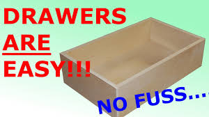 How To Make Drawers How To Make Easy Simple Drawers Youtube