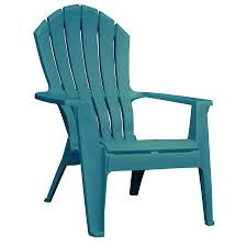 Shop Adams Mfg Corp 1 Count Teal Resin Stackable Patio Adirondack
