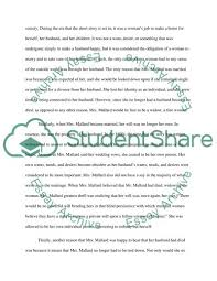 Causal Analysis Causal Analysis Story Of An Hour Essay Example Topics And