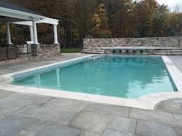 satin matrix supreme white with glass tile waterline leisure craft pools