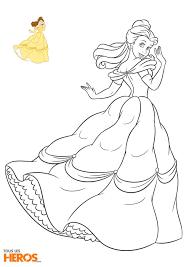 Coloriage De La Princesse Bellellllll