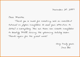 Thank You Note Examples Great Thank You Notes Examples